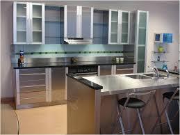 stainless steel kitchen cabinet doors hervorragend stainless kitchen cabinets stunning steel cabinet