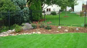 decor tips cool fencing ideas with rod iron fence for backyard