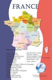 Nantes France Map by Amazon Com French Language Poster Set Maps Of France