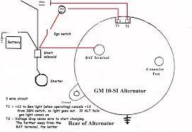 ford alternator wiring diagram internal regulator tamahuproject org