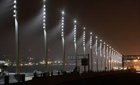 Bay Bridge Lights Re Lighting San Francisco U0027s Bay Bridge With Custom Led Lighting