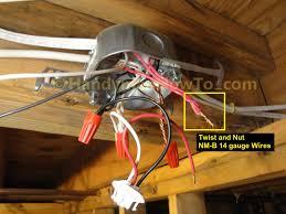 electrical lighting wiring diagrams on loop in junction box within