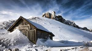 mountain home theater nature landscape winter snow wood house mountain hill
