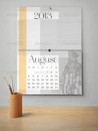 free desk calendar mock up in psd free psd templates