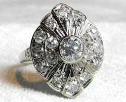 antique 4 ct diamond engagement ring cushion cut old european old