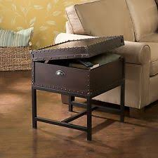 End Table Storage Trunk Side Table Ebay