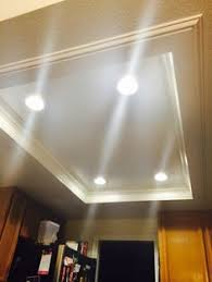 Replace Fluorescent Light Fixture In Kitchen by Idea For Our Kitchen Where The Old Flourescent Lighting Was For