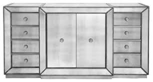 omni mirrored buffet contemporary buffets and sideboards by