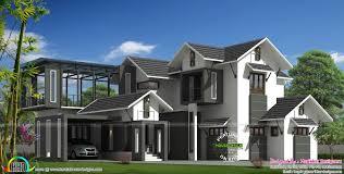 2900 sq ft modern sloped roof house kerala home design bloglovin u0027