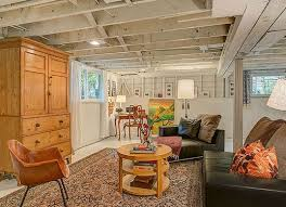 Unfinished Basement Ceiling by Best 25 Unfinished Basement Storage Ideas On Pinterest