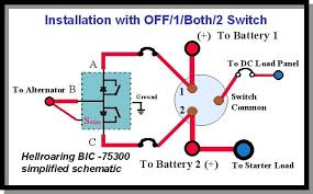 boat battery switch wiring diagram wiring diagram and schematic