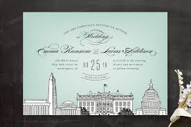 mint wedding invitations big city washington dc wedding invitations by hooray creative