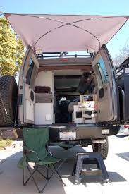 Small Campervan Awnings Diy Rear Awning Sportsmobile Forum Overland Pinterest Nice