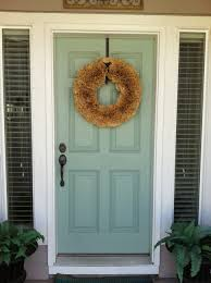 image result for colors to paint front door on a brick house