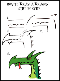 how to draw a dragon guide step by step daryl hobson artwork
