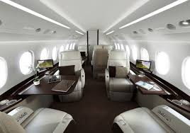 of the most beautiful private jets interiors in 2013