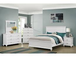cape cod 6 pc size bedroom set bedroom set white
