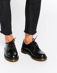 doc martens womens boots sale image 1 dr martens 1461 chaussures plates classiques noir