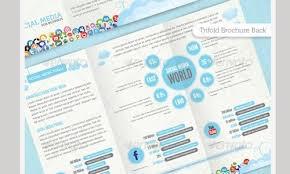 social media brochure template 35 premium brochure design template