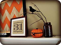 16 diy halloween mantels even if you don u0027t have a fireplace