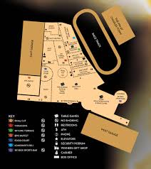 Map Of Las Vegas Casinos by Casino Map Hollywood Casino At Charles Town Races