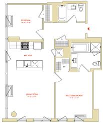 floor plans 2 bedroom view instrata at mercedes house apartment floor plans studios 1
