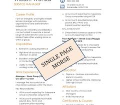 1 page resume exles page resume exle one finance executive exles simple