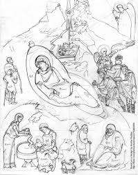 2003 nativity cartoon cartoon for christmas 2003 the nati u2026 flickr