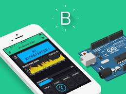 blynk is a platform with ios and android apps to control arduino