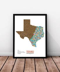 Texas travel products images Texas scratch off travel map mappinners jpg