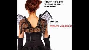 bat wings fancy dress halloween bat costume accessories lace