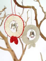 jingle bell wreaths ornaments