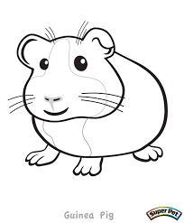 baby pig coloring pages piglet guinea pages theotix