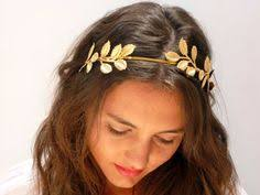 goddess headband nypmph goddess headband olive headband bridal by avigailadam