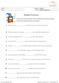 159 free personal pronouns worksheets