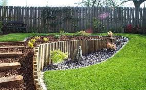 Design Your Own Front Yard - landscape landscaping ideas for slopes in backyard the garden