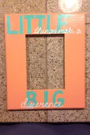 sorority picture frame it it works for any sorority and so similar to what my