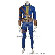 blue jumpsuit costume aliexpress com buy fallout 4 far harbor costume vault