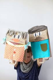 maker mama craft blog giant paper bag puppets on pbs crafts for