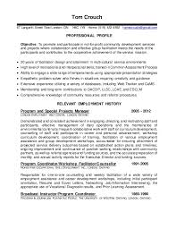 Resume Services London Ontario Tom U0027s Facilitator Resume Prior To Starting At Goodwill In 2012