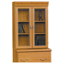 sauder orchard hill lateral file hutch with glass doors 41 14 h x