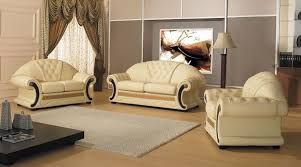 leather livingroom set cleopatra traditional leather sofa set