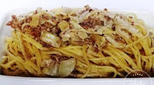 cuisiner des oignons spaghettis crème viande oignons la tendresse en cuisine