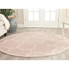 light pink wool rug safavieh handmade moroccan cambridge light pink ivory wool rug 6