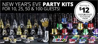 nye party kits new year s party kits party city