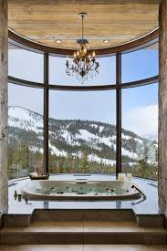 Drop In Bathtubs For Sale Rustic Master Bathroom With Drop In Bathtub By Locati Architects