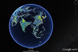 World At Night Map New Maps Depict World U0027s Light Pollution Problem Wsj