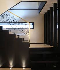 Difference Between Banister And Balustrade Modern Luxury Staircase Glass Engraved Balustrade With Golden