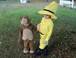 Curious George Costume Curious George And The Man In The Yellow Hat Costume The Shirley