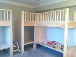 Best Bedrooms Images On Pinterest Bunk Rooms Built In Bunks - Kids built in bunk beds